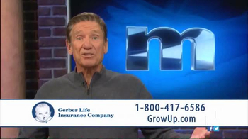 Gerber Life Insurance Grow-Up Plan TV Spot, 'Head Start' Ft. Maury Povich - Thumbnail 5