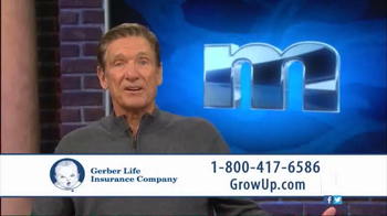 Gerber Life Insurance Grow-Up Plan TV Spot, 'Head Start' Ft. Maury Povich - Thumbnail 7