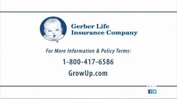 Gerber Life Insurance Grow-Up Plan TV Spot, 'Head Start' Ft. Maury Povich - Thumbnail 8