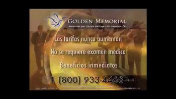 Golden Memorial TV Spot, 'Seguro de vida' [Spanish] - Thumbnail 9