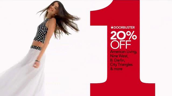 Macy's One Day Sale TV Spot, 'Jewelry, Suits and Kitchen' - Thumbnail 6