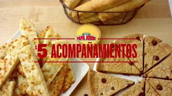 Papa John's Acompañamientos por $5 TV Spot, 'Tú eliges' [Spanish] - Thumbnail 2