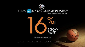 Buick March Madness Event TV Spot, 'RemoteLink App' - Thumbnail 7