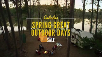 Cabela's Spring Great Outdoor Days Sale TV Spot, 'Get Inspired' - Thumbnail 5