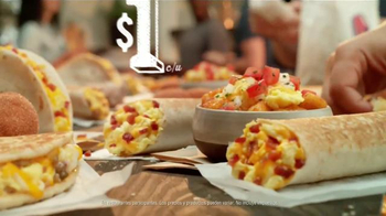 Taco Bell Grilled Breakfast Burrito TV Spot, '¿Esta o aquella?' [Spanish] - Thumbnail 7