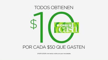 Kohl's TV Spot, 'Venta de Pascua y Dinero Kohl's' [Spanish] - Thumbnail 10