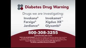 Sokolove Law TV Spot, 'Diabetes Drug Warning' - Thumbnail 3