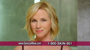 Chamonix Skin Care Genucel TV Spot, 'Celebrity Treatment' Ft. Laurie Dhue