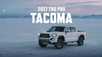 2017 Toyota TRD Pro Tacoma TV Spot, 'Family' - Thumbnail 6