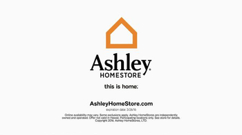 Ashley Furniture Homestore One Day Sale TV Spot, 'Beds, Sofas, Dining Sets' - Thumbnail 7