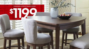 Ashley Furniture Homestore One Day Sale TV Spot, 'Beds, Sofas, Dining Sets'