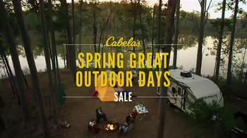 Cabela's Spring Great Outdoor Days Sale TV Spot, 'Time to Cook Out' - Thumbnail 5