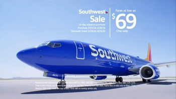 Southwest Airlines TV Spot, 'A Real Cinderella Story' - Thumbnail 7
