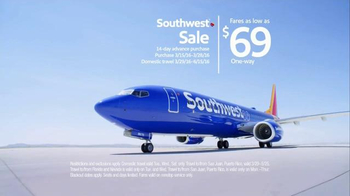 Southwest Airlines TV Spot, 'A Real Cinderella Story' - 141 commercial airings