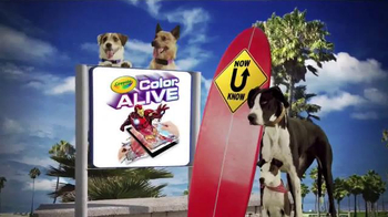 Crayola Color Alive TV Spot, 'Disney XD: Now U Know' - Thumbnail 9