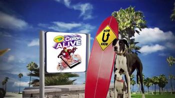 Crayola Color Alive TV Spot, 'Disney XD: Now U Know' - Thumbnail 8