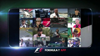 Official F1 App TV Spot, 'Stay Connected'