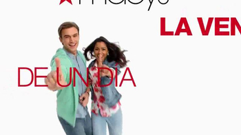 Macy's La Venta de Un Día TV Spot, 'El miércoles' [Spanish] - Thumbnail 1