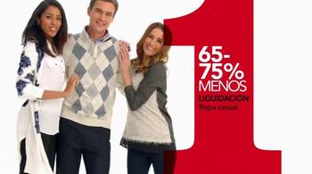 Macy's La Venta de Un Día TV Spot, 'El miércoles' [Spanish] - Thumbnail 9