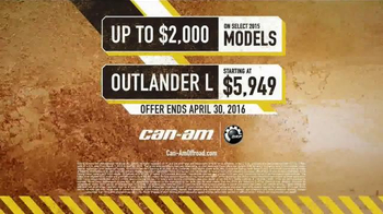 Can-Am Spring Fever Sales Event TV Spot, 'Best Time of the Year' - Thumbnail 9