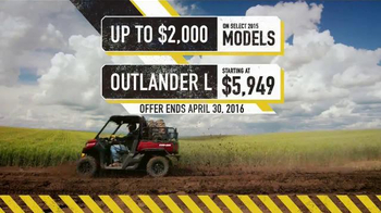 Can-Am Spring Fever Sales Event TV Spot, 'Best Time of the Year' - Thumbnail 8