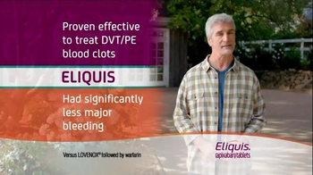 ELIQUIS TV Spot, 'DVT and PE Blood Clots: Painting' - Thumbnail 10