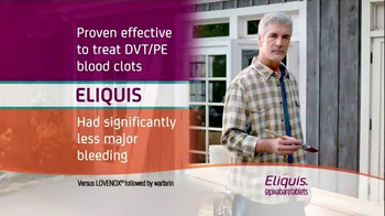 ELIQUIS TV Spot, 'DVT and PE Blood Clots: Painting' - Thumbnail 5