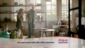 ELIQUIS TV Spot, 'DVT and PE Blood Clots: Painting' - Thumbnail 9