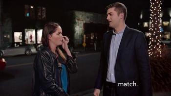 Match.com TV Spot, 'Match on the Street: Laura 7x Bar' - Thumbnail 1
