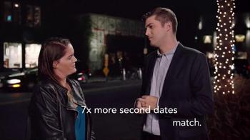 Match.com TV Spot, 'Match on the Street: Laura 7x Bar' - Thumbnail 4