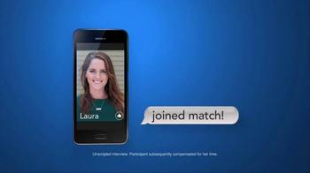 Match.com TV Spot, 'Match on the Street: Laura 7x Bar' - Thumbnail 5