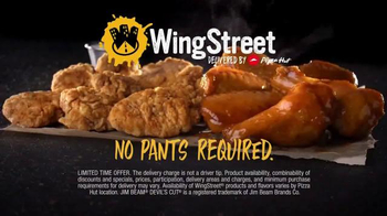 Pizza Hut Wing Street TV Spot, 'No Pants Required' - Thumbnail 10