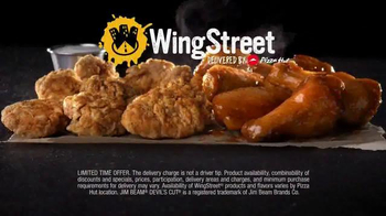 Pizza Hut Wing Street TV Spot, 'No Pants Required' - Thumbnail 9