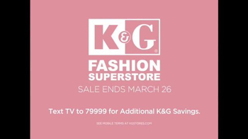 K&G Fashion Superstore Easter Looks Event TV Spot, 'Suits and Dresses' - Thumbnail 8