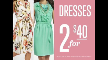K&G Fashion Superstore Easter Looks Event TV Spot, 'Suits and Dresses' - Thumbnail 7