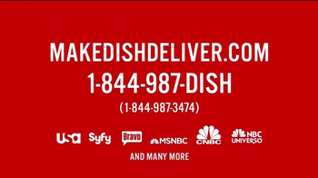Make Dish Deliver TV Spot, 'NBC Universal' - Thumbnail 8