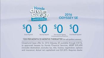 Honda Dream Garage Sales Event TV Spot, 'Clowns' - Thumbnail 6