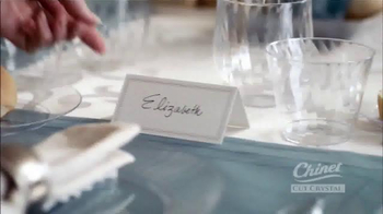 Chinet Cut Crystal TV Spot, 'Seating Arrangements' - Thumbnail 3