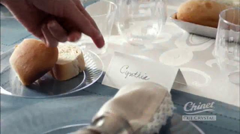 Chinet Cut Crystal TV Spot, 'Seating Arrangements' - Thumbnail 4