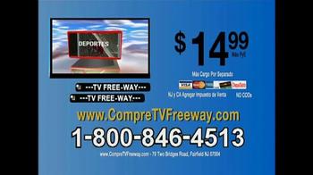 TV Free-Way TV Spot, 'Transmisión de señal digital' [Spanish] - Thumbnail 10