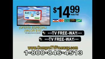 TV Free-Way TV Spot, 'Transmisión de señal digital' [Spanish] - Thumbnail 9