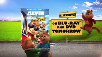 Alvin and the Chipmunks: The Road Chip Home Entertainment TV Spot - Thumbnail 8