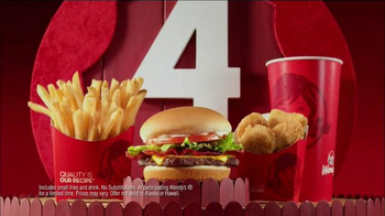Wendy's 4 for $4 TV Spot, 'Wallpaper' - Thumbnail 8