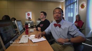 University of Maryland TV Spot, 'Transform the Student Experience' - Thumbnail 1