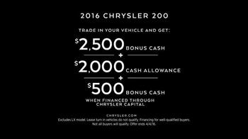 2016 Chrysler 200 & 300 TV Spot, 'Meeting' Feat. Martin Sheen, Bill Pullman - Thumbnail 9