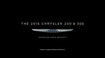 2016 Chrysler 200 & 300 TV Spot, 'Meeting' Feat. Martin Sheen, Bill Pullman - Thumbnail 8
