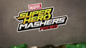 Marvel Super Hero Mashers Micro TV Spot, 'Mix and Mash' - Thumbnail 1