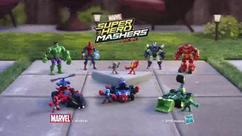 Marvel Super Hero Mashers Micro TV Spot, 'Mix and Mash' - Thumbnail 9
