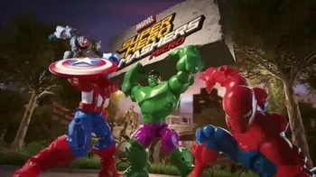 Marvel Super Hero Mashers Micro TV Spot, 'Mix and Mash'