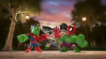 Marvel Super Hero Mashers Micro TV Spot, 'Mix and Mash' - Thumbnail 4